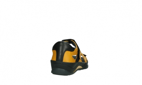 wolky sandalen 01050 ripple 30900 yellow leather_20