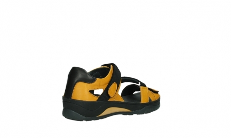 wolky sandalen 01050 ripple 30900 yellow leather_22