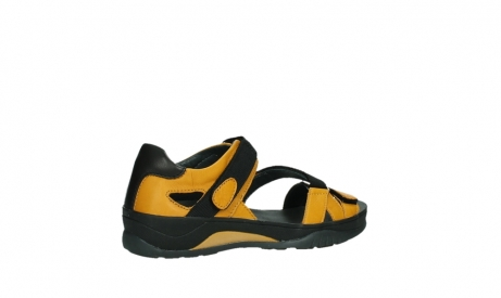 wolky sandalen 01050 ripple 30900 yellow leather_23