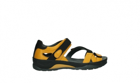 wolky sandalen 01050 ripple 30900 yellow leather_24
