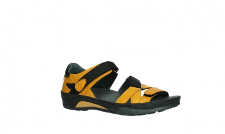 wolky sandalen 01050 ripple 30900 yellow leather_3
