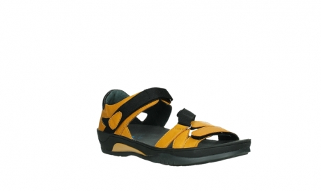 wolky sandalen 01050 ripple 30900 yellow leather_4