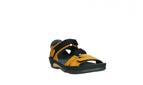 wolky sandalen 01050 ripple 30900 yellow leather_5