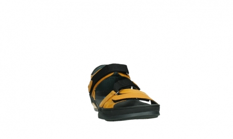 wolky sandalen 01050 ripple 30900 yellow leather_6