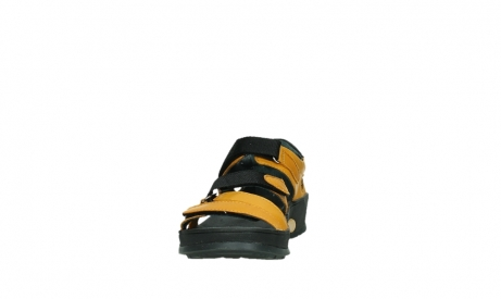 wolky sandalen 01050 ripple 30900 yellow leather_8
