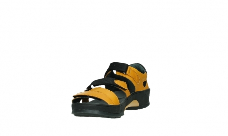 wolky sandalen 01050 ripple 30900 yellow leather_9