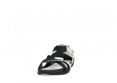 wolky sandalen 01100 cleopatra 20100 white leather_20
