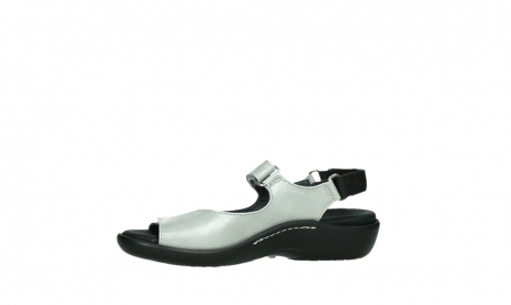 wolky sandalen 01300 salvia 85130 silver leather_12