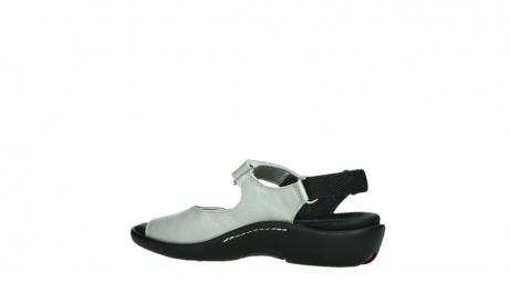 wolky sandalen 01300 salvia 85130 silver leather_15