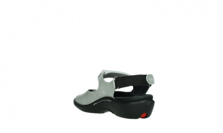 wolky sandalen 01300 salvia 85130 silver leather_17