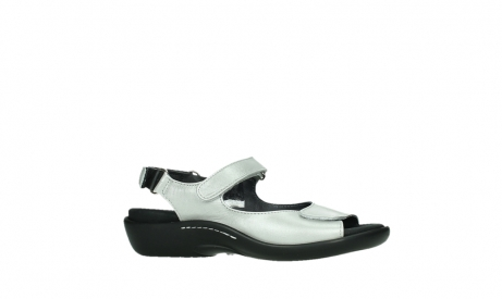 wolky sandalen 01300 salvia 85130 silver leather_2