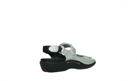 wolky sandalen 01300 salvia 85130 silver leather_22