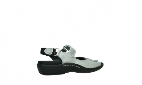 wolky sandalen 01300 salvia 85130 silver leather_23