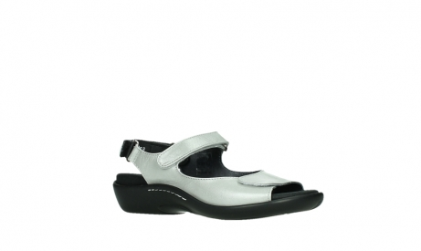 wolky sandalen 01300 salvia 85130 silver leather_3