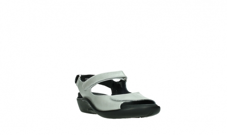 wolky sandalen 01300 salvia 85130 silver leather_5