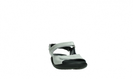 wolky sandalen 01300 salvia 85130 silver leather_6