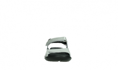wolky sandalen 01300 salvia 85130 silver leather_7