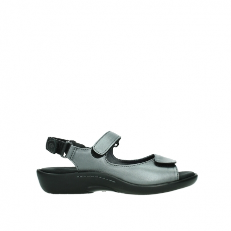 wolky sandalen 01300 salvia 85280 metal leather