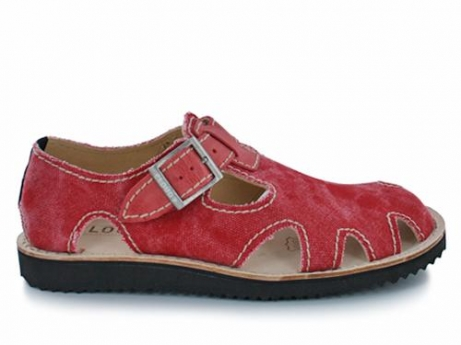 wolky sandalen 02262 tiwa 90500 rood canvas