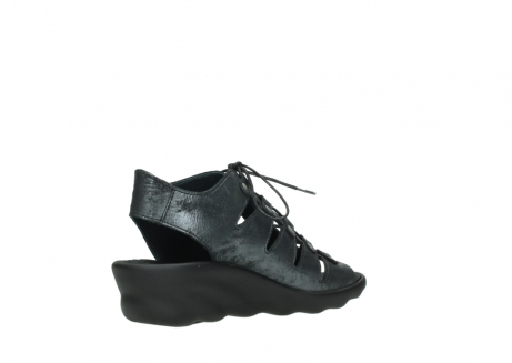 wolky sandalen 03126 arena 10000 black anthracite nubuck_10
