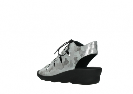 wolky sandalen 03126 arena 14200 grey camouflage nubuck_4
