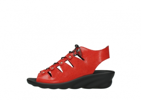 wolky sandales 03126 arena 90500 nubuck rouge_1