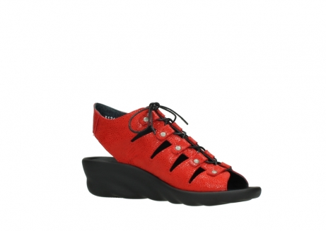 wolky sandales 03126 arena 90500 nubuck rouge_15