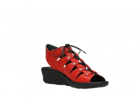 wolky sandales 03126 arena 90500 nubuck rouge_16