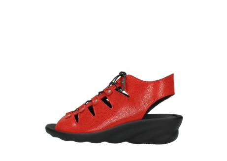 wolky sandales 03126 arena 90500 nubuck rouge_2