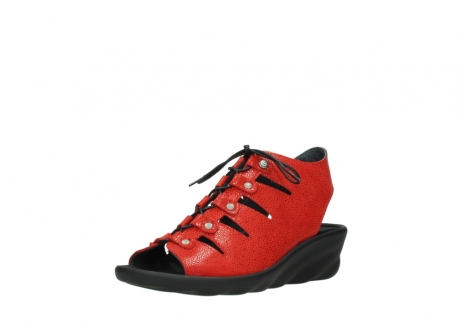 wolky sandales 03126 arena 90500 nubuck rouge_22