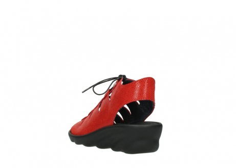 wolky sandales 03126 arena 90500 nubuck rouge_5