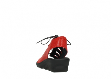 wolky sandalen 03126 arena 90500 rood nubuck_6