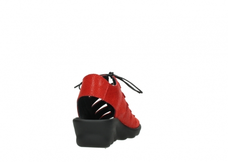 wolky sandalen 03126 arena 90500 rood nubuck_8