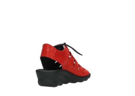 wolky sandales 03126 arena 90500 nubuck rouge_9