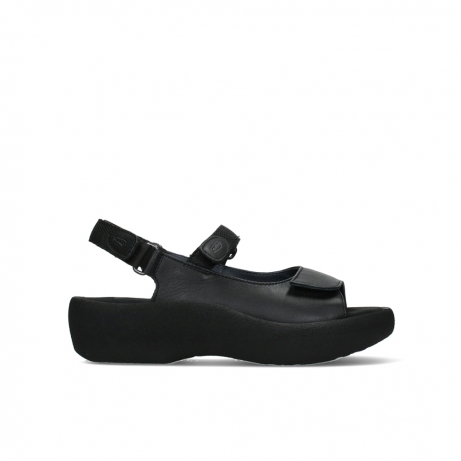 wolky sandalen 03204 jewel 30000 black leather