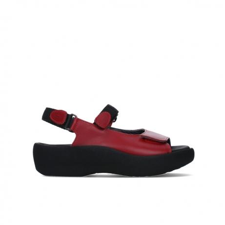wolky sandalen 03204 jewel 30500 rood leer
