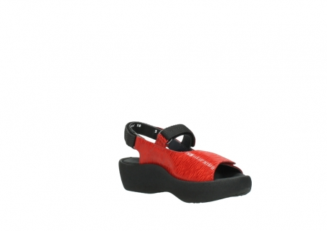 wolky sandalen 03204 jewel 70500 rood canals_16