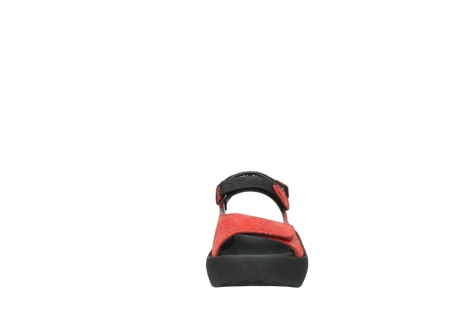wolky sandalen 03204 jewel 70500 rot canals_19
