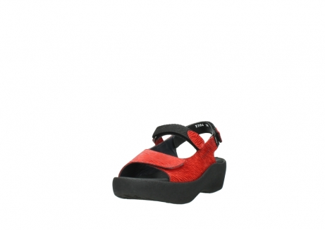 wolky sandalen 03204 jewel 70500 rood canals_21