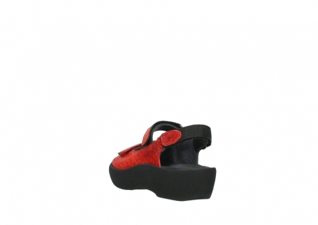 wolky sandalen 03204 jewel 70500 rood canals_5