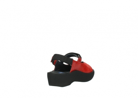 wolky sandalen 03204 jewel 70500 rot canals_9