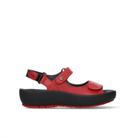 wolky sandalen 03325 rio 20500 rood leer