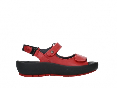 wolky sandalen 03325 rio 20500 rood leer_1