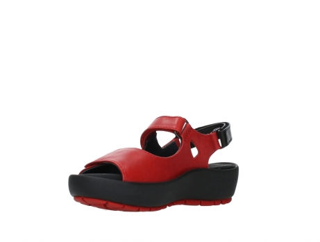 wolky sandalen 03325 rio 20500 rood leer_10