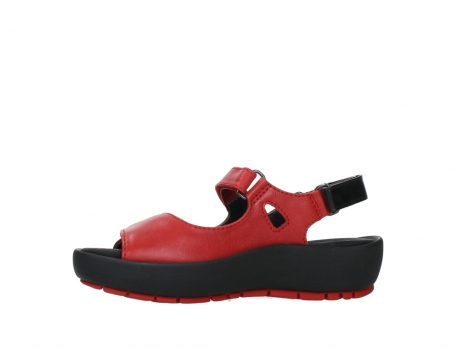 wolky sandalen 03325 rio 20500 rood leer_12