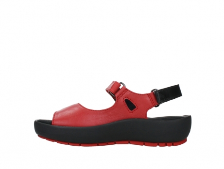 wolky sandalen 03325 rio 20500 rood leer_13