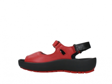 wolky sandalen 03325 rio 20500 rood leer_14