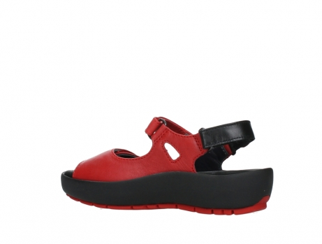 wolky sandalen 03325 rio 20500 rood leer_15