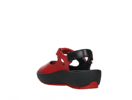 wolky sandalen 03325 rio 20500 rood leer_17