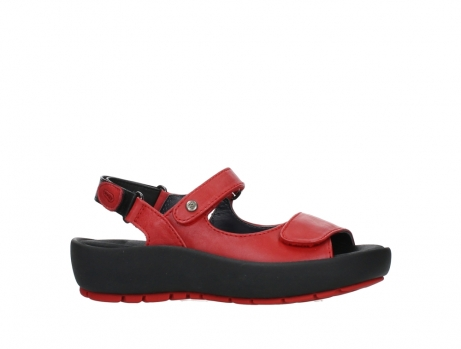 wolky sandalen 03325 rio 20500 rood leer_2